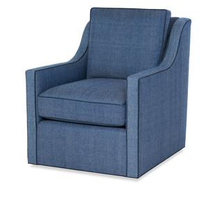 Thumbnail of Highland House - Antonio Low Profile Swivel Chair