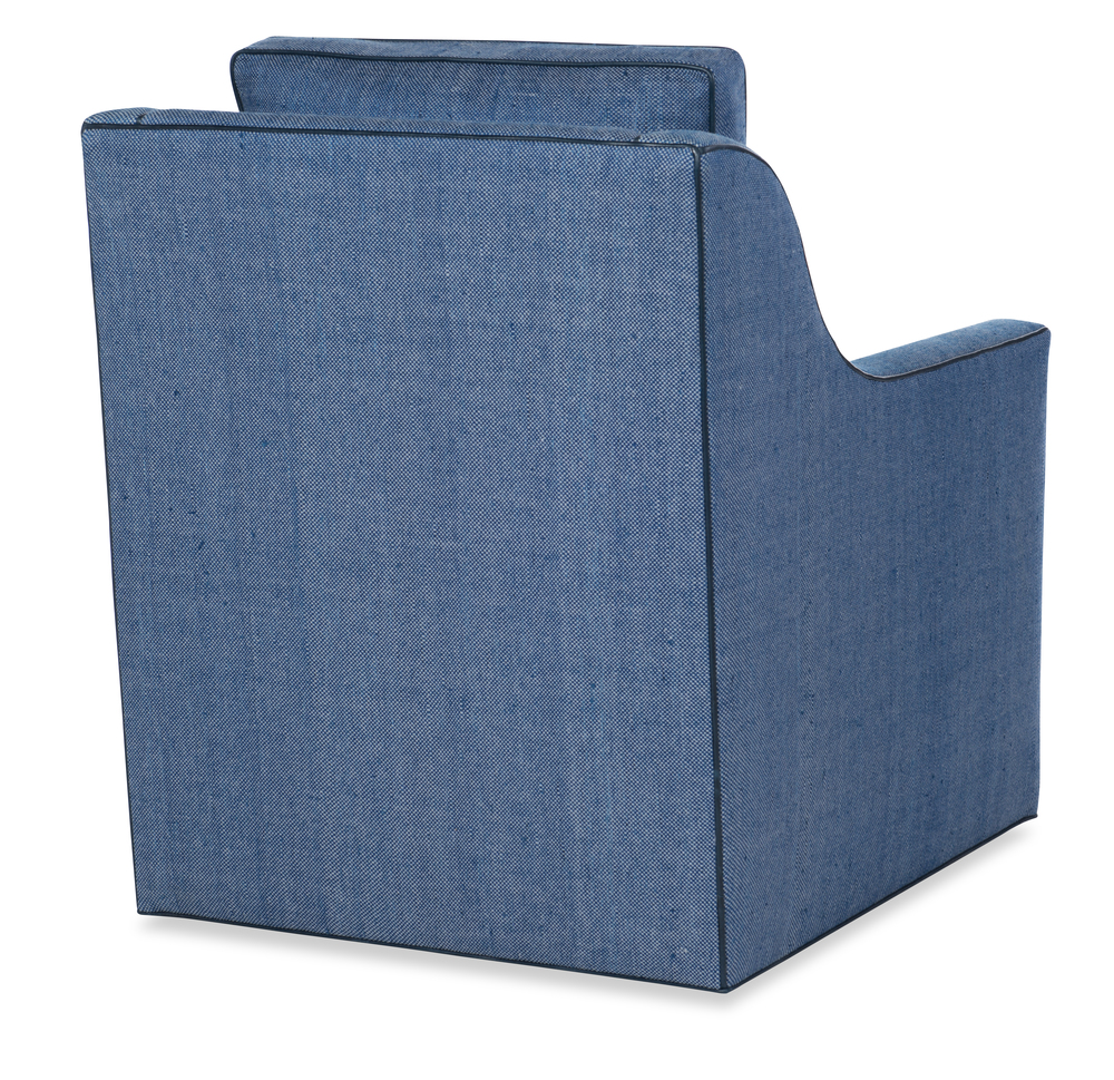 Highland House - Antonio Low Profile Swivel Chair