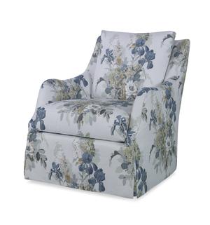 Thumbnail of Highland House - Finnigan Skirted Swivel Chair