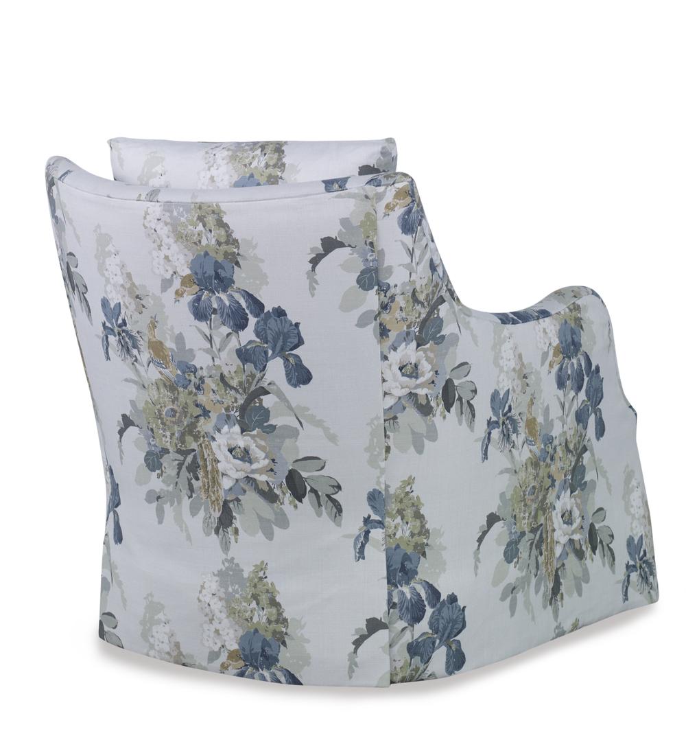 Highland House - Finnigan Skirted Swivel Chair