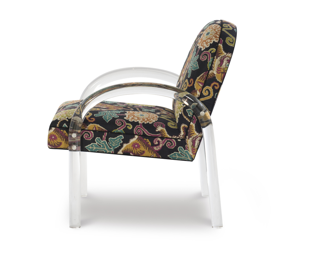 Highland House - Elva Acrylic Arm Chair