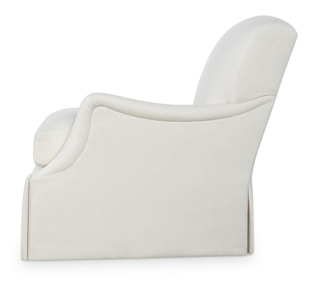 Highland House - Dorset Skirted Swivel Chair