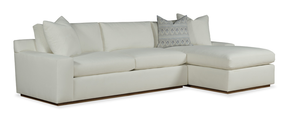 Highland House - Haase Sectional with Chaise