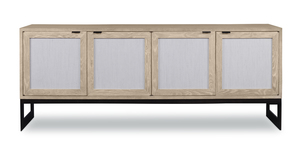 Thumbnail of Highland House - Rafael Credenza with Grass Cloth Door Fronts