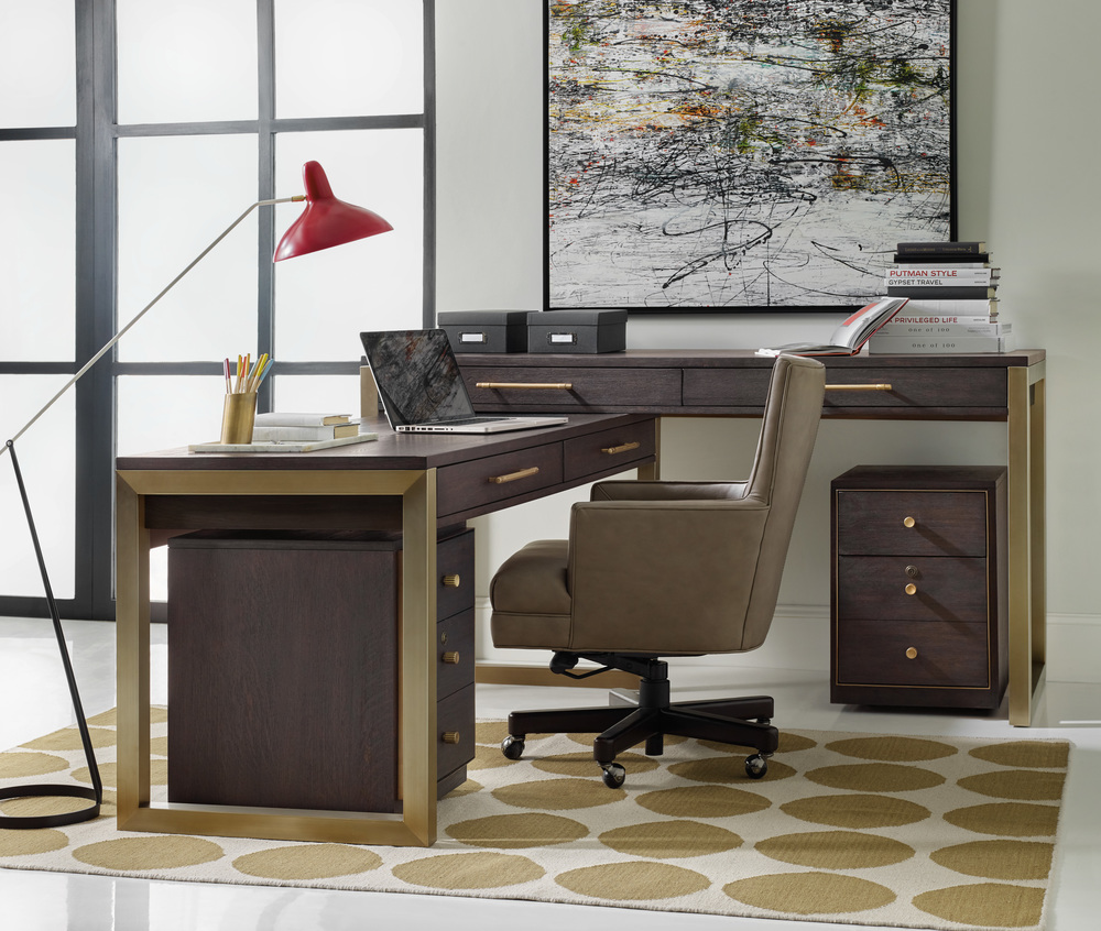 Hooker Furniture - Desk Group, Two Piece