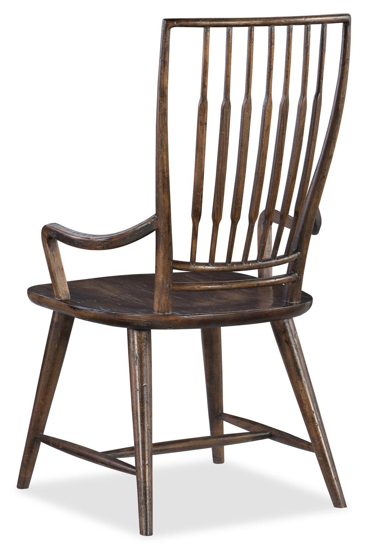 Hooker Furniture - Spindle Back Arm Chair