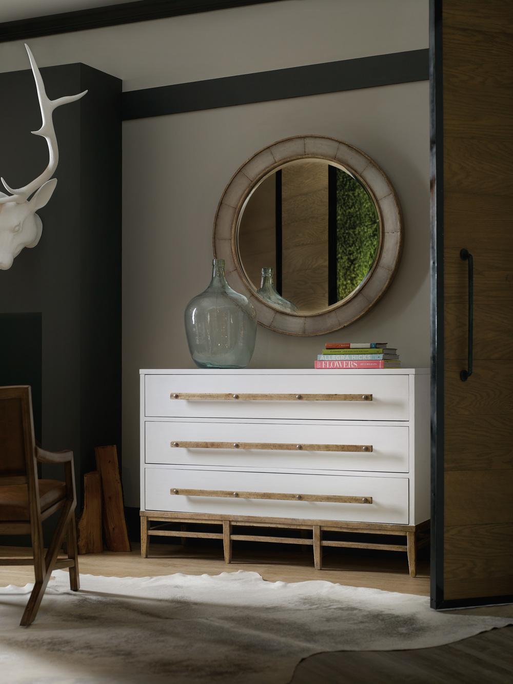 Hooker Furniture - Three Drawer Bachelor's Chest