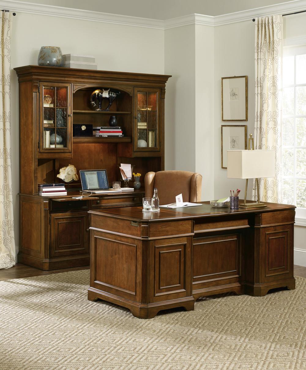 Hooker Furniture - Brookhaven Executive Desk