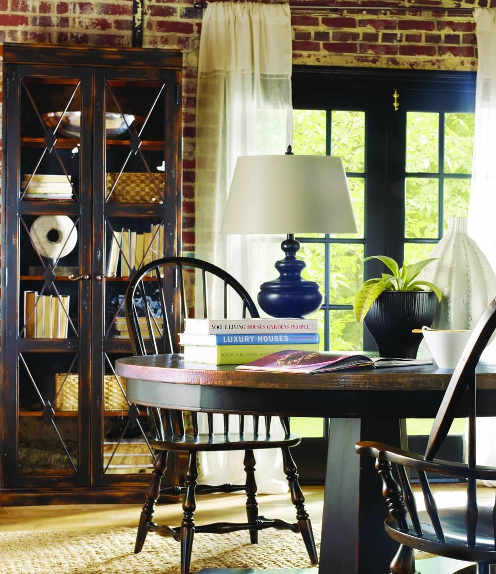 Hooker Furniture - Sanctuary Two Door Thin Display Cabinet