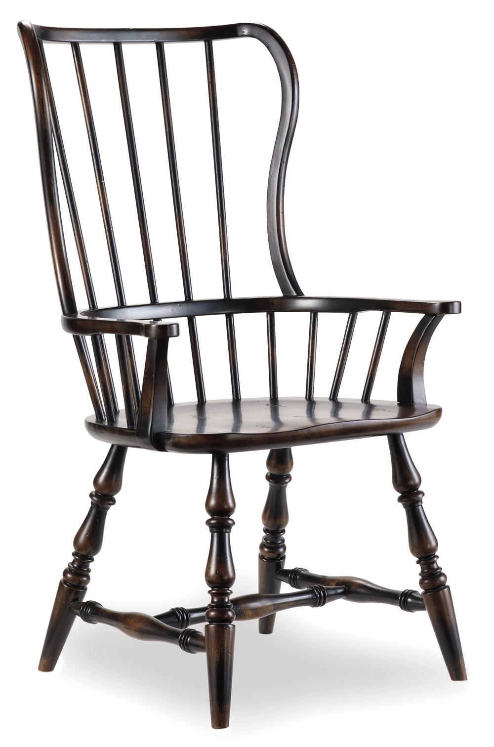 Hooker Furniture - Sanctuary Spindleback Arm Chair