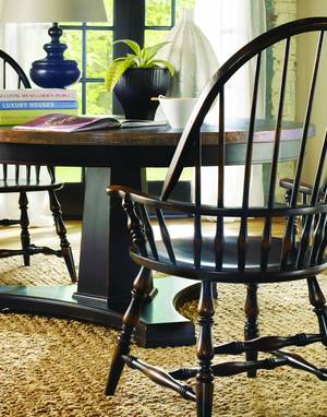 Thumbnail of Hooker Furniture - Sanctuary Windsor Arm Chair