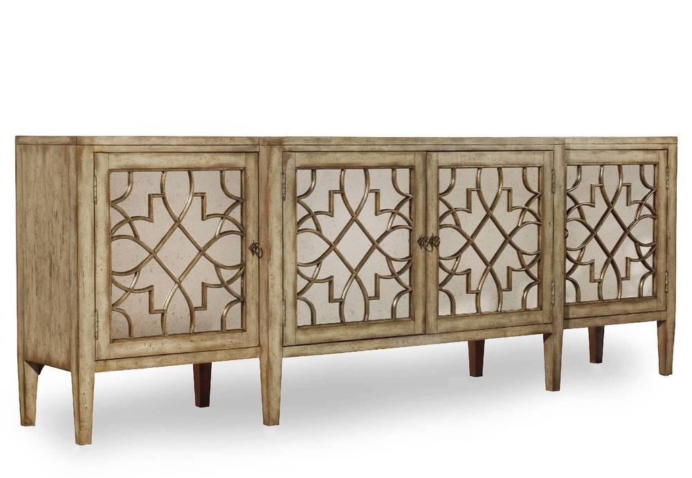 Hooker Furniture - Sanctuary Four Door Mirrored Console