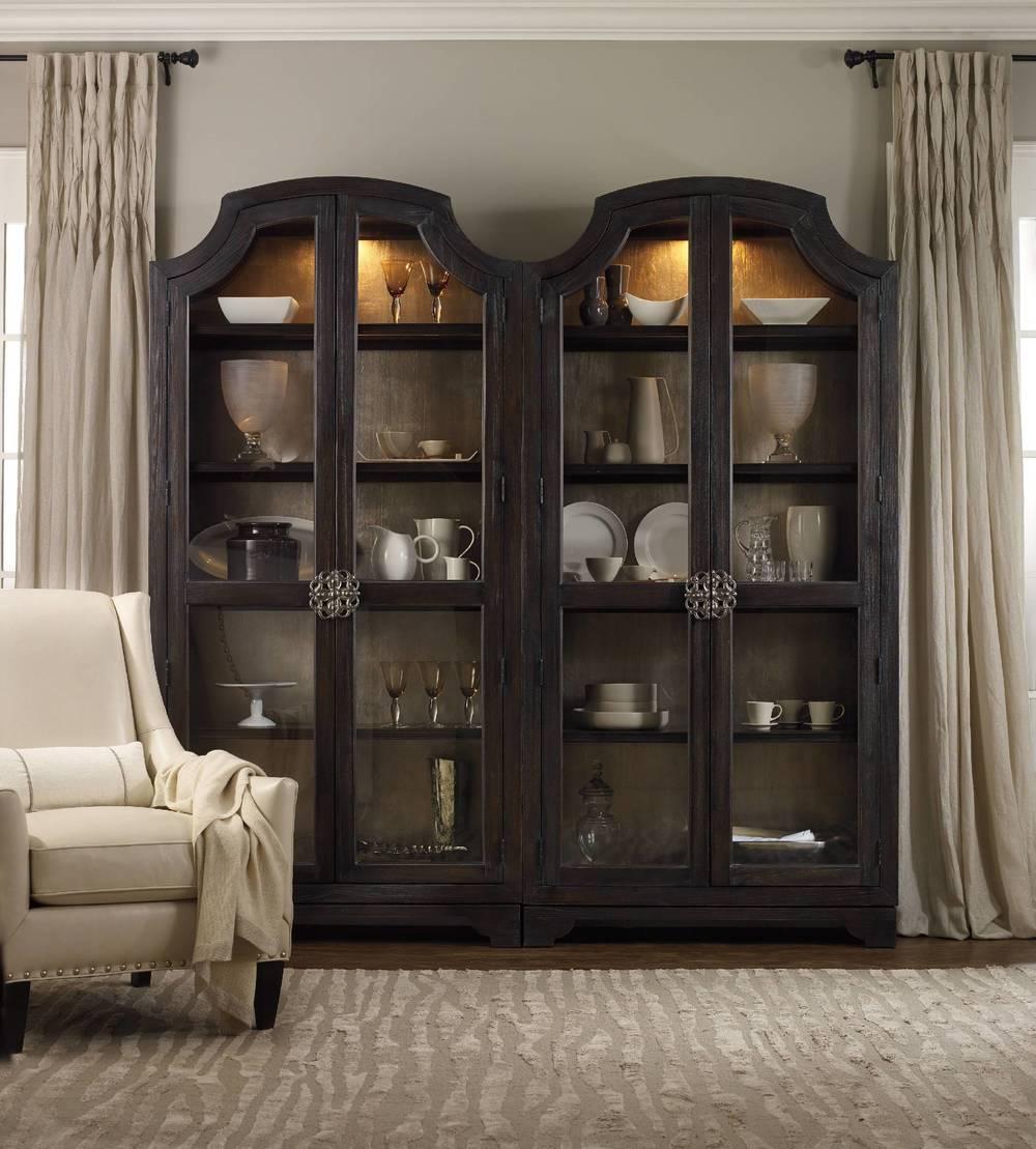 Hooker Furniture - Sanctuary Glass Bunching Curio