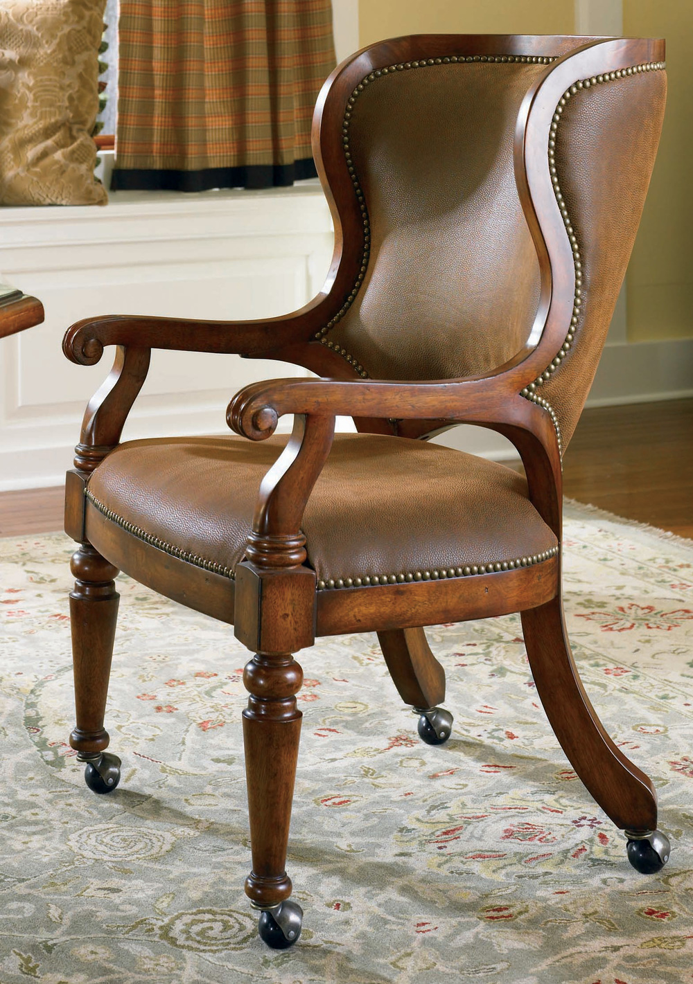 Hooker Furniture - Waverly Place Tall Back Castered Game Chair