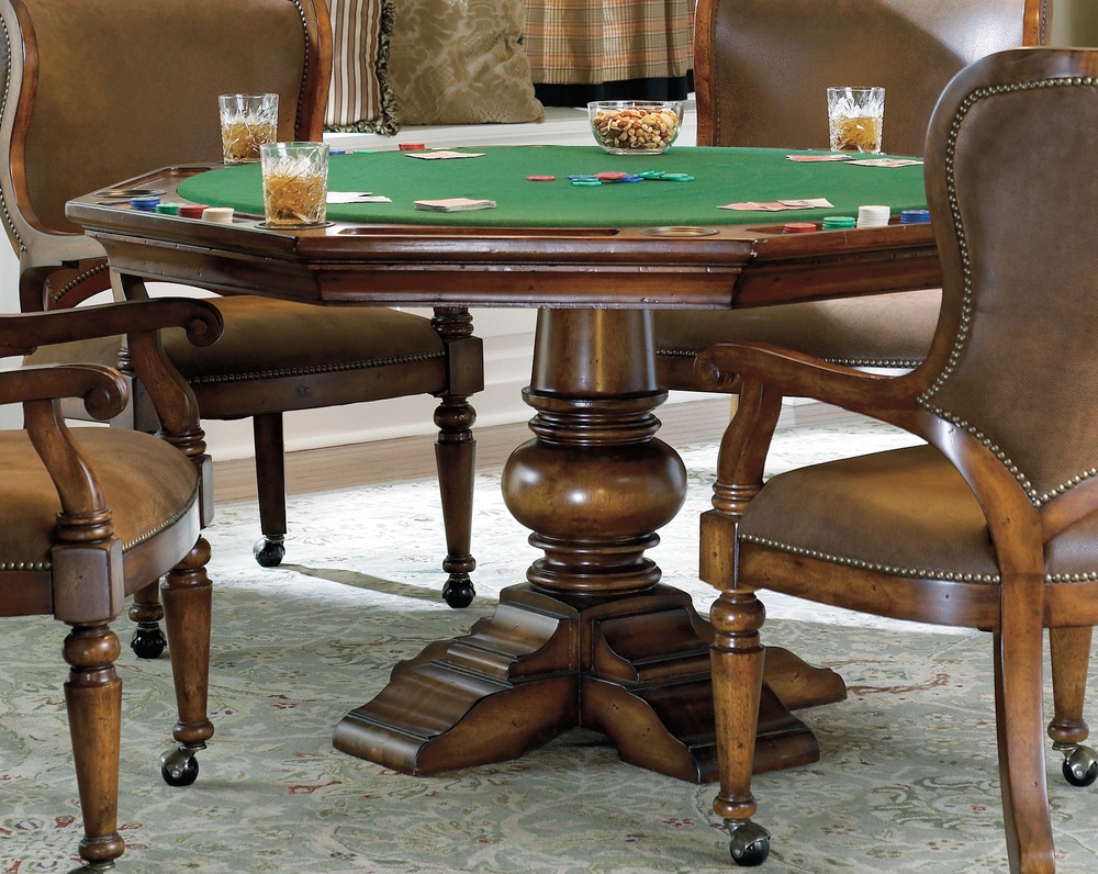 Hooker Furniture - Reversible Top Poker Table