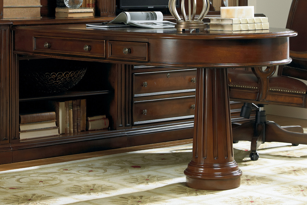 Hooker Furniture - Peninsula Desk Complete