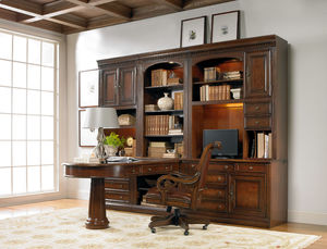 Thumbnail of Hooker Furniture - Peninsula Desk Complete