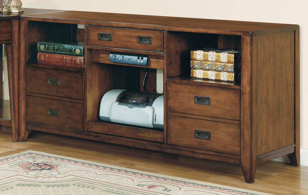 Hooker Furniture - Danforth Open Credenza