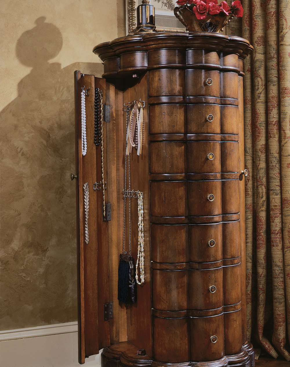 Hooker Furniture - Shaped Jewelry Armoire