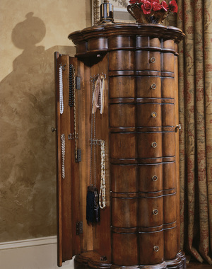 Thumbnail of Hooker Furniture - Shaped Jewelry Armoire