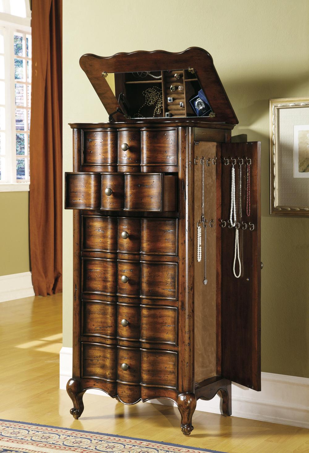 Hooker Furniture - Red Asian Cabinet
