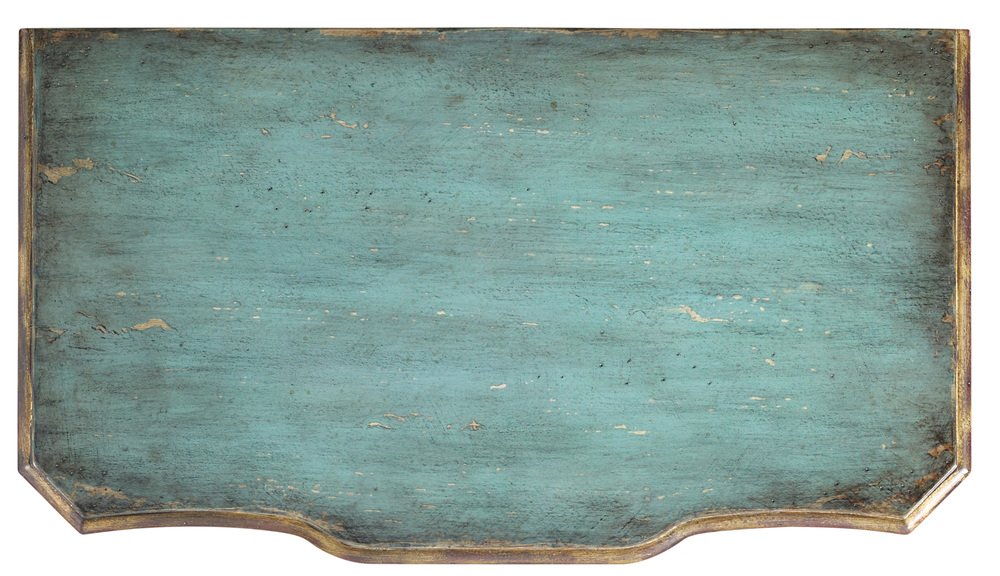 Hooker Furniture - Three Drawer Turquoise Chest