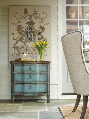 Thumbnail of Hooker Furniture - Three Drawer Turquoise Chest