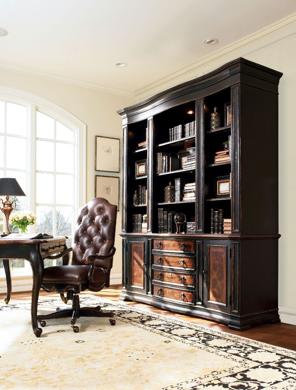 Hooker Furniture - Grandover Tilt Swivel Chair