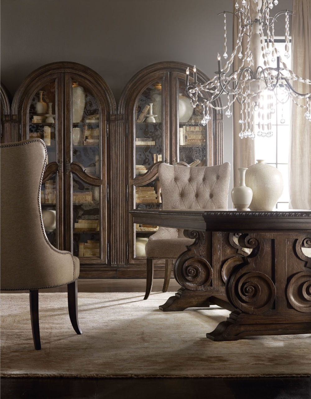 Hooker Furniture - Rhapsody Tufted Dining Chair