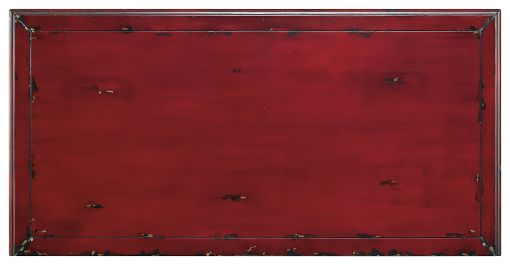 Hooker Furniture - Red Bombe Chest