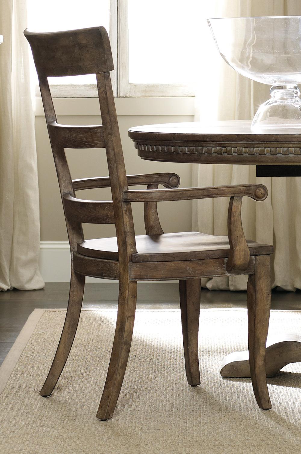 Hooker Furniture - Sorella Ladderback Arm Chair