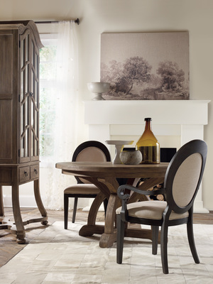 Thumbnail of Hooker Furniture - Round Dining Table w/ One Leaf