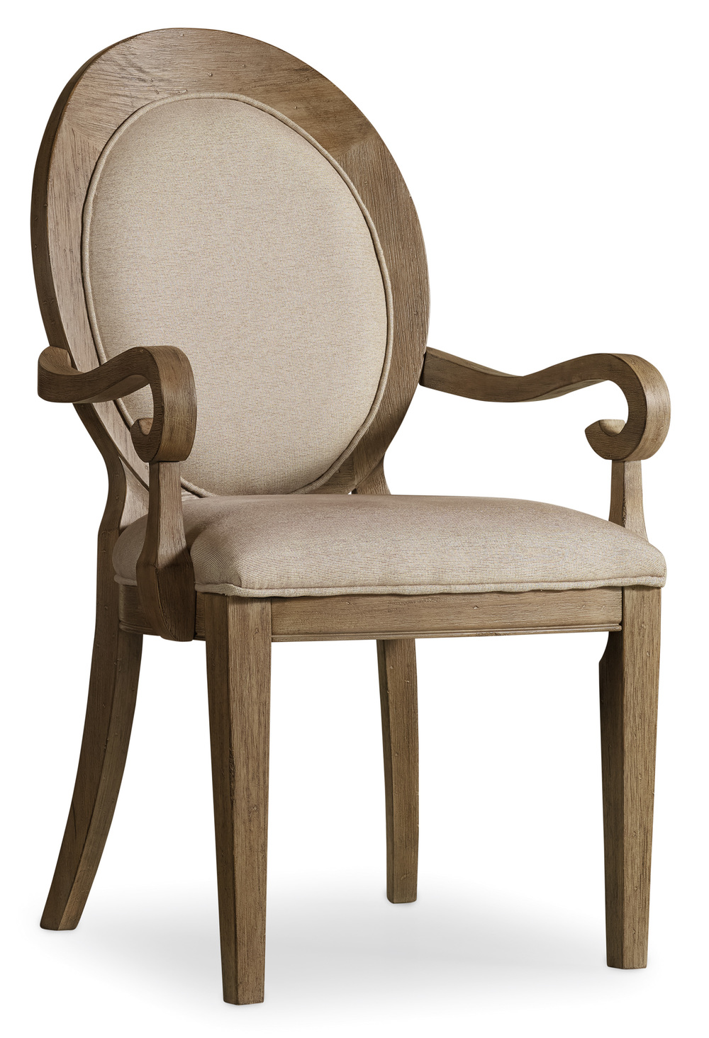 Hooker Furniture - Corsica Oval Back Arm Chair
