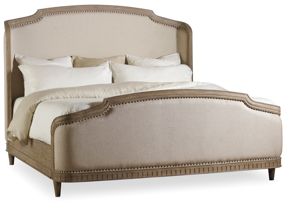 Hooker Furniture - Queen Upholstered Shelter Bed