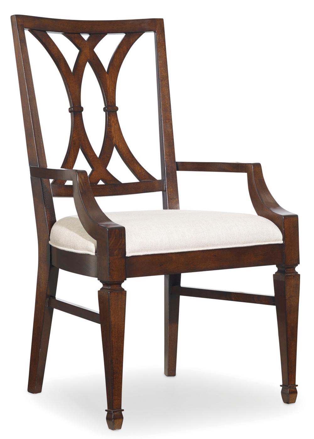 Hooker Furniture - Palisade Splat Back Arm Chair