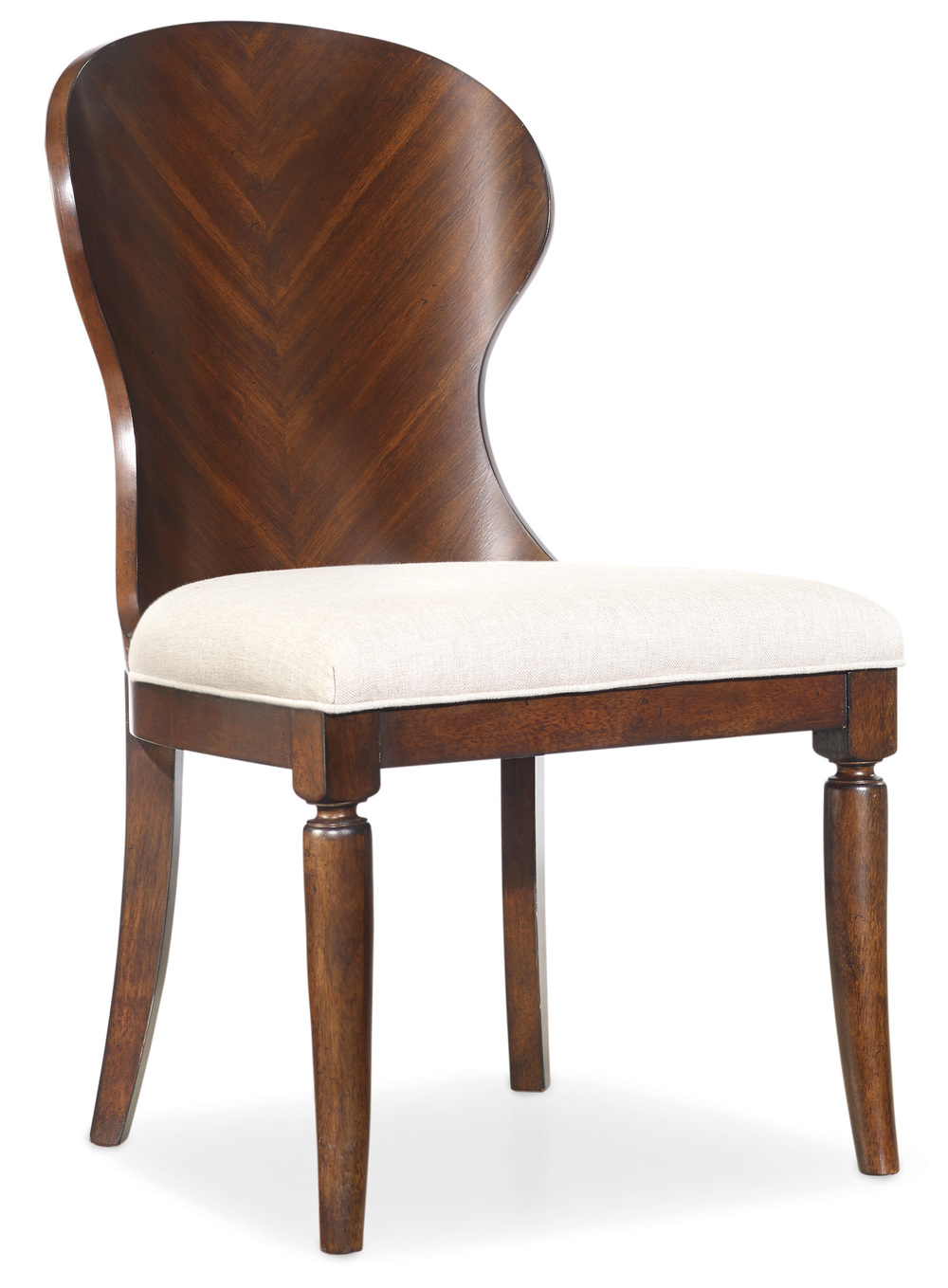 HOOKER FURNITURE CO - Palisade Wood Back Side Chair