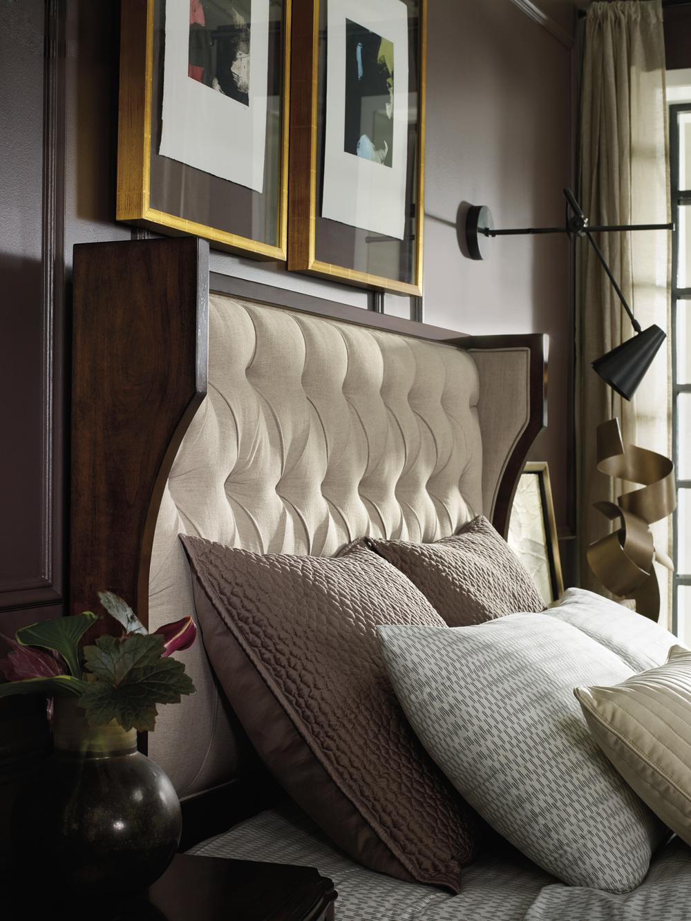 Hooker Furniture - Queen Upholstered Shelter Bed