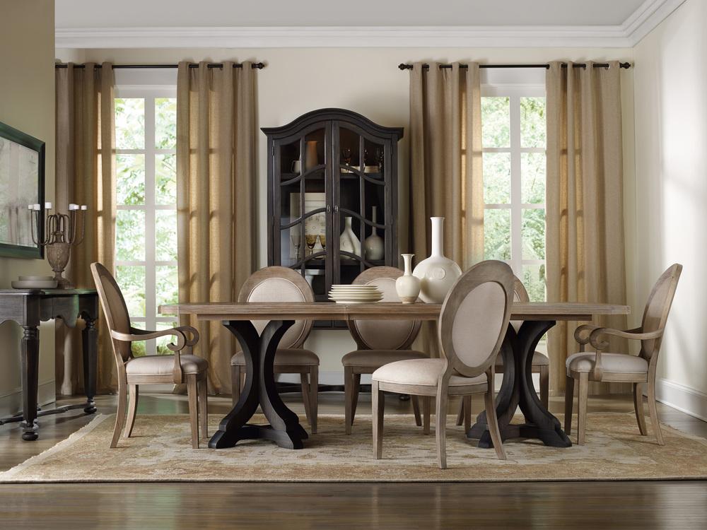 Hooker Furniture - Rectangular Pedestal Dining Table
