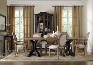 Thumbnail of Hooker Furniture - Rectangular Pedestal Dining Table