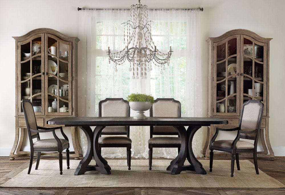 Hooker Furniture - Corsica Dark Upholstered Arm Chair