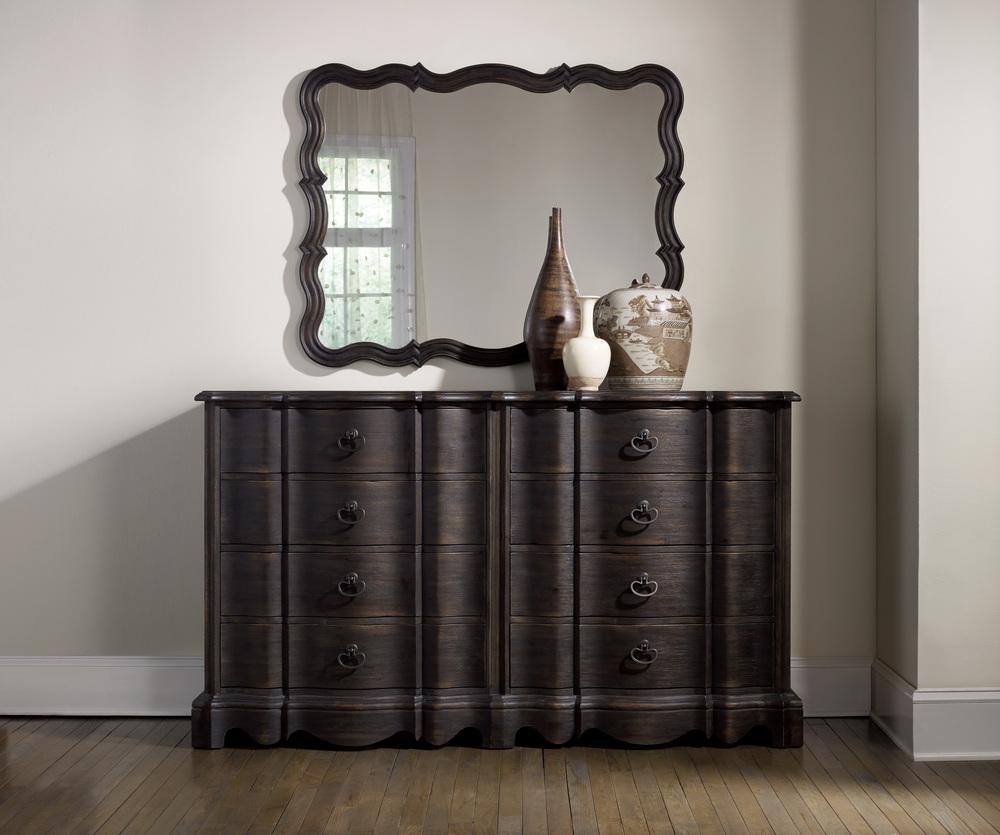 Hooker Furniture - Corsica Dark Eight Drawer Dresser