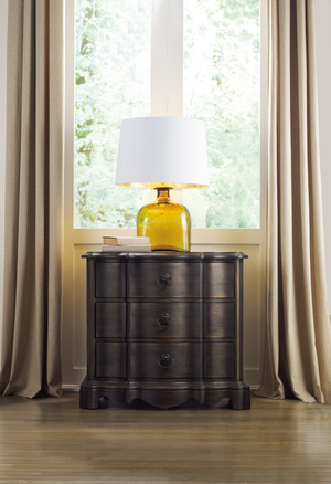 Thumbnail of Hooker Furniture - Corsica Dark Three Drawer Nightstand