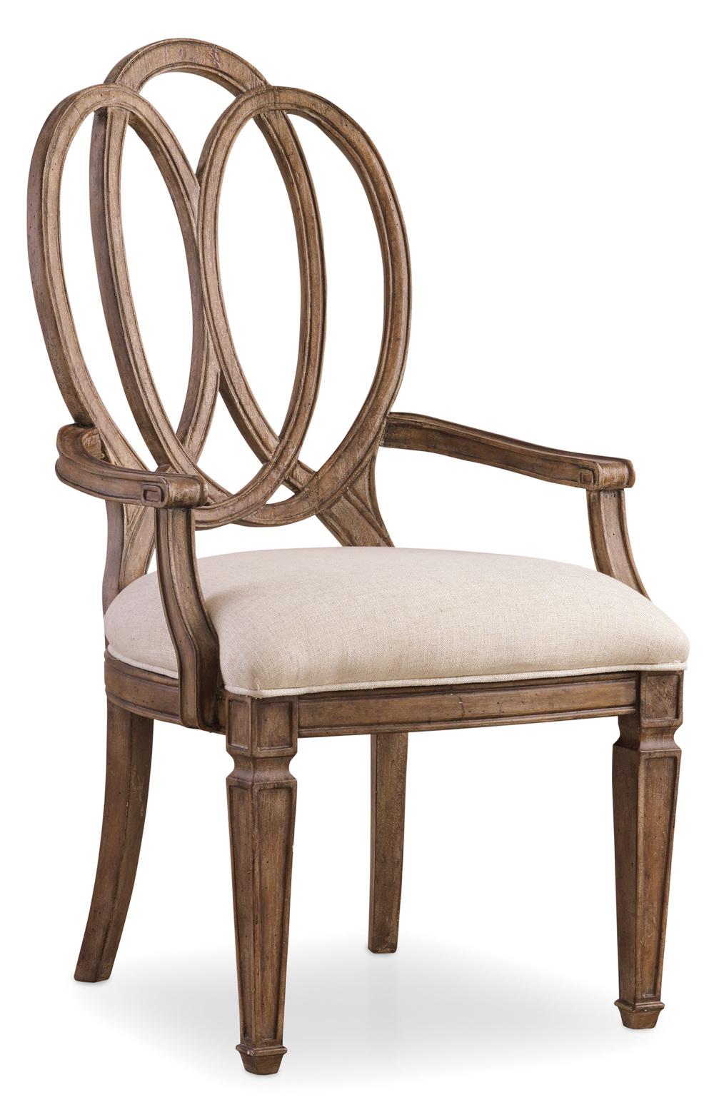 Hooker Furniture - Solana Wood Back Arm Chair
