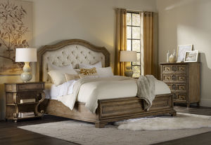 Thumbnail of Hooker Furniture - King Upholstered Panel Bed