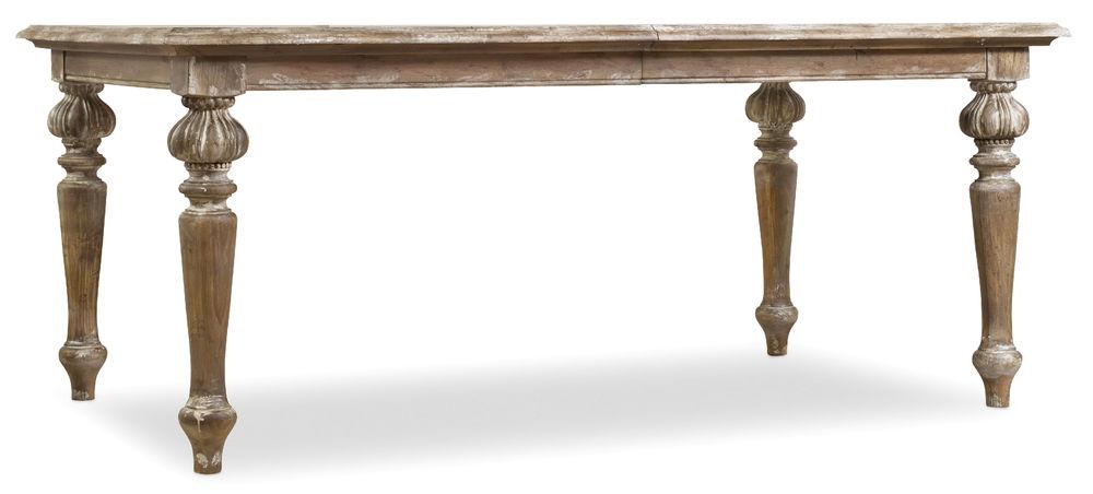 Hooker Furniture - Chatelet Rectangular Leg Dining Table w/ Two Leaves