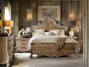Thumbnail of Hooker Furniture - King Wood Panel Bed
