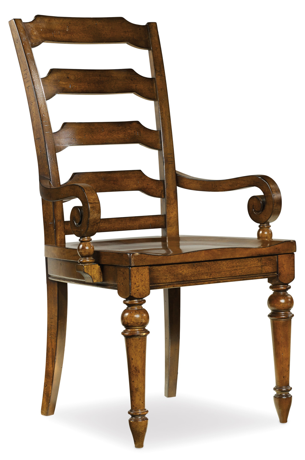 Hooker Furniture - Tynecastle Ladderback Arm Chair