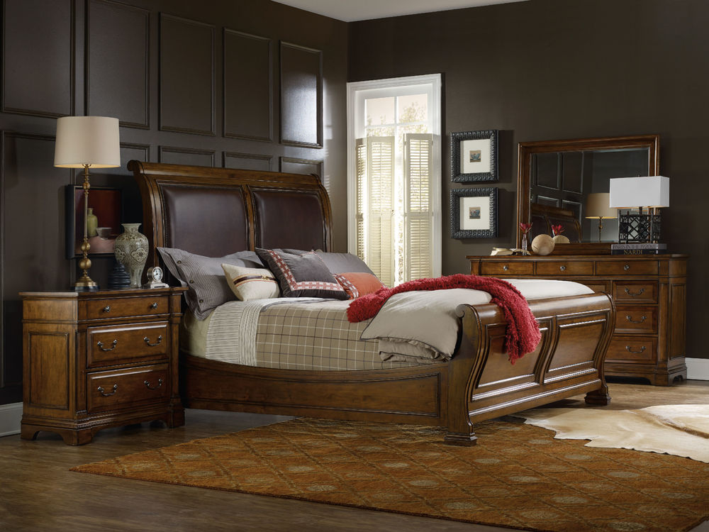 Hooker Furniture - King Sleigh Bed