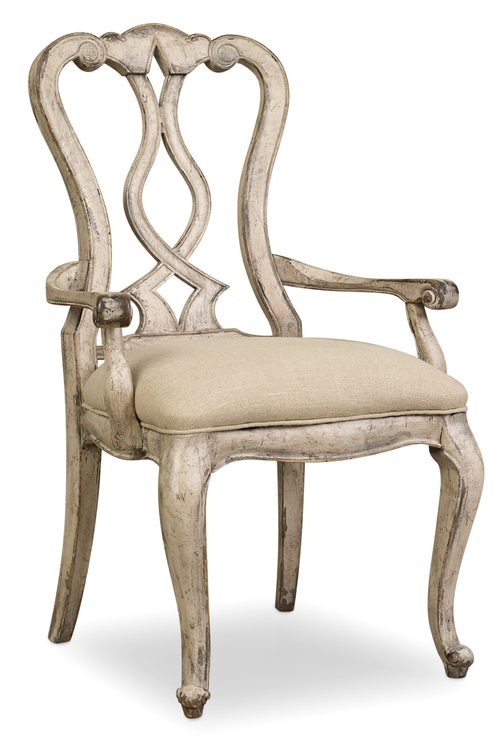 HOOKER FURNITURE CO - Splatback Arm Chair