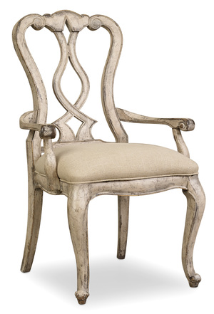 Thumbnail of HOOKER FURNITURE CO - Splatback Arm Chair